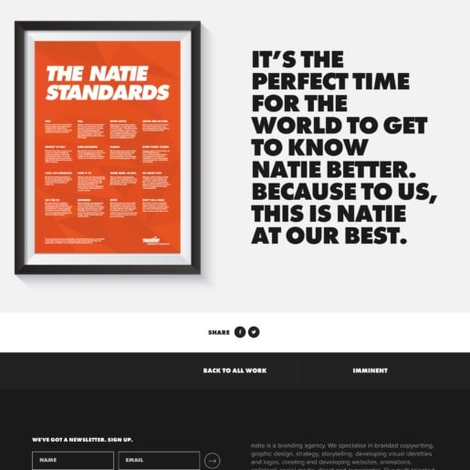 Pics - standards - Natie Branding Agency