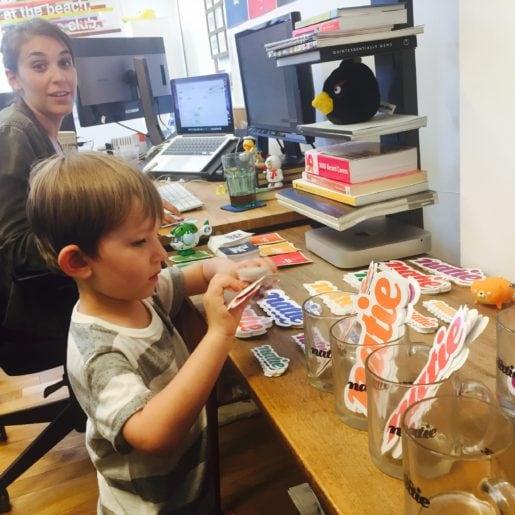 Pics - kids-office - Natie Branding Agency