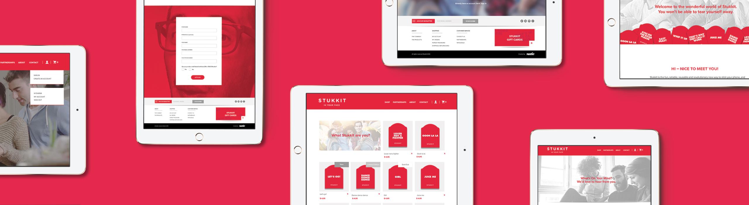 Stukkit - natie-stukkit-website-ipad - Natie Branding Agency