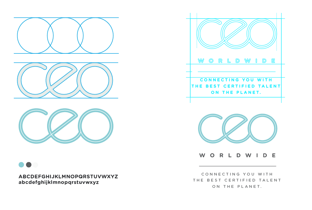 CEO Worldwide - natie-ceo-worldwide-typography - Natie Branding Agency
