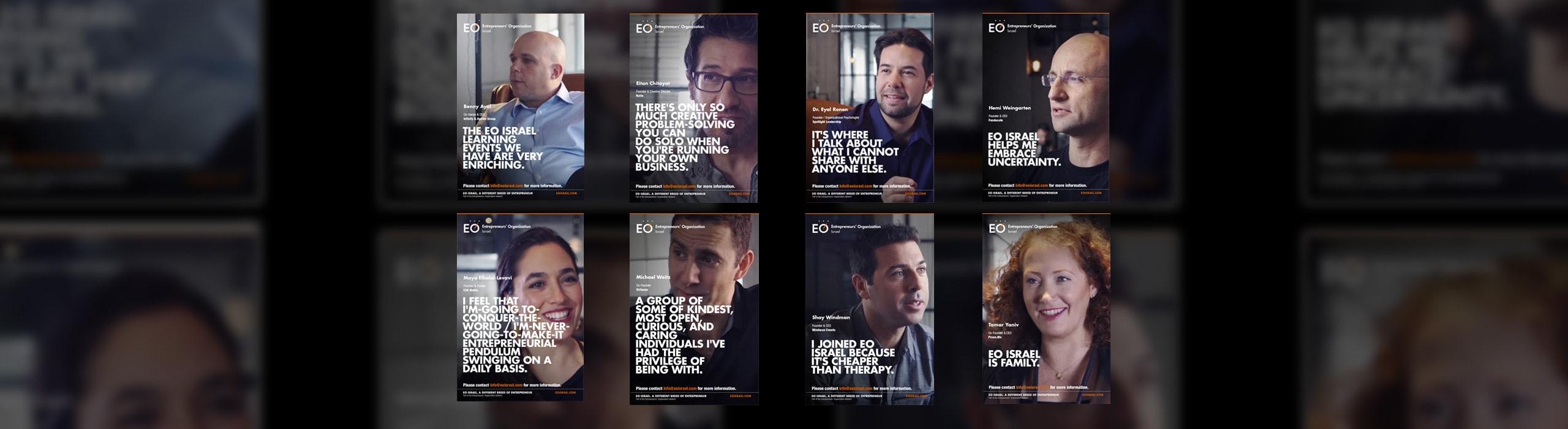EO Israel - natie-eo-israel-posters - Natie Branding Agency