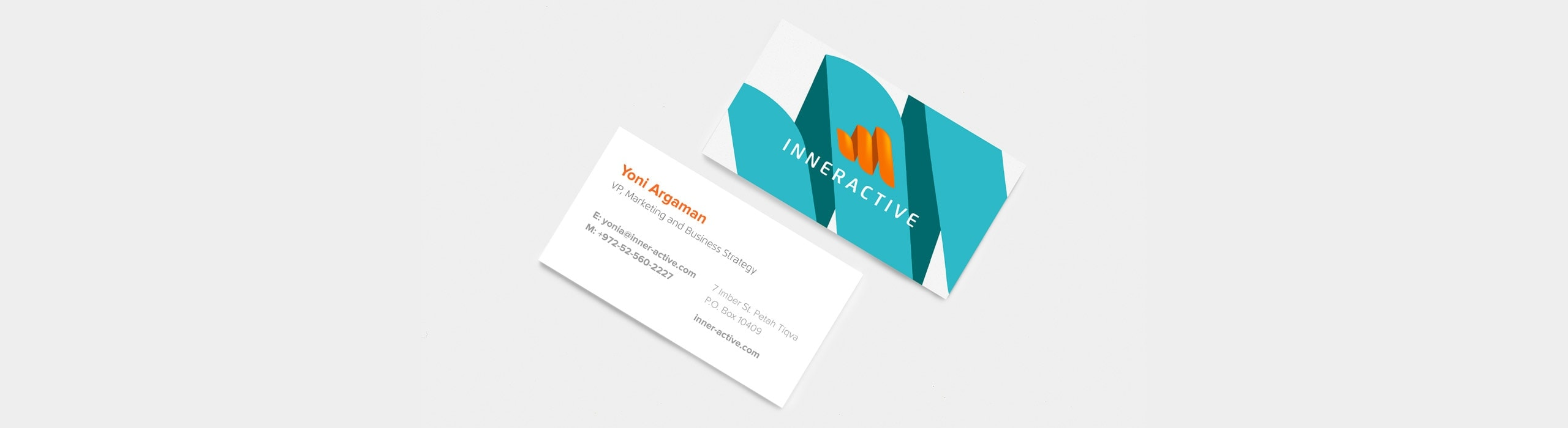 Inneractive - natie-inneractive-business-cards - Natie Branding Agency
