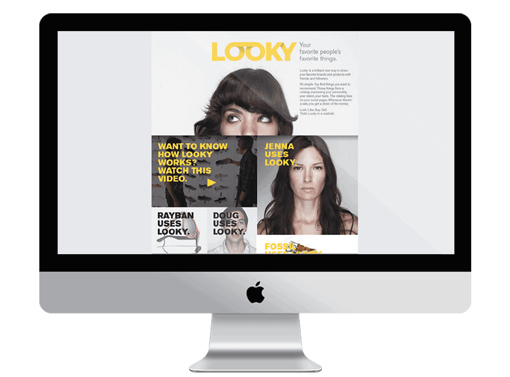 Looky - natie-looky-website - Natie Branding Agency