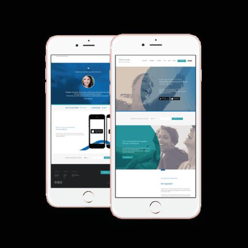 Medisafe - natie-medisafe-website-mobile - Natie Branding Agency