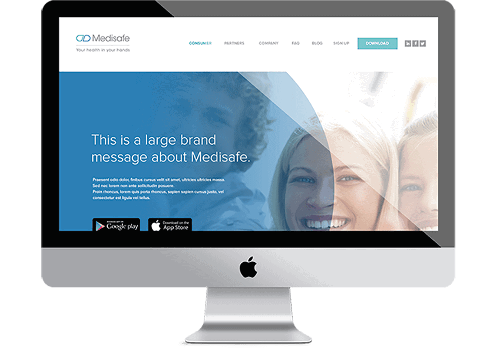 Medisafe - natie-medisafe-website - Natie Branding Agency