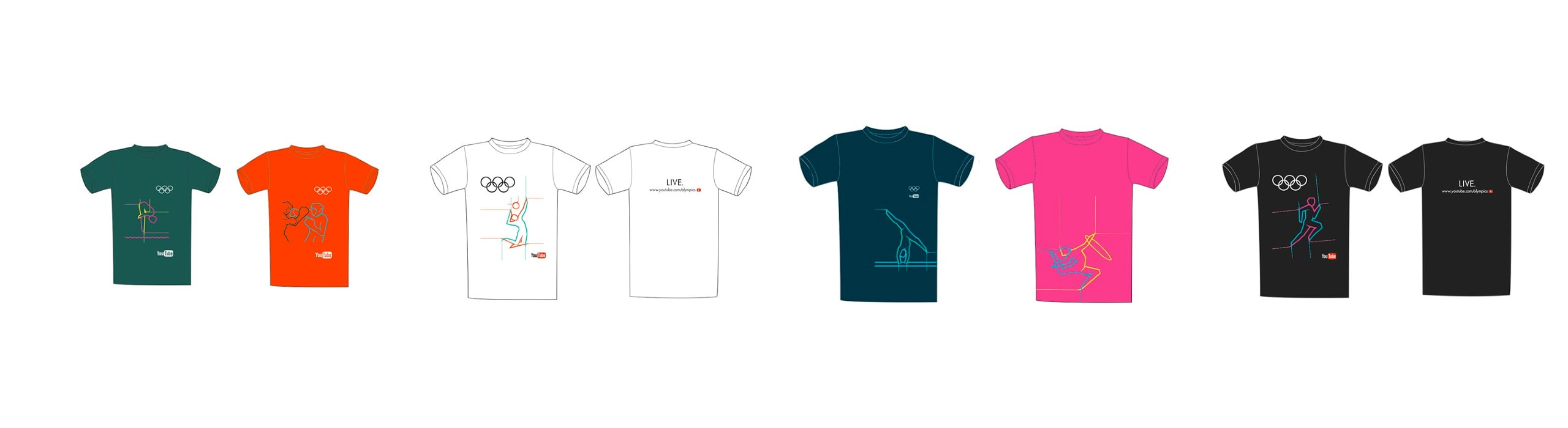 A Campaign for the Olympics - natie-olympics-campaign-tshirts - Natie Branding Agency