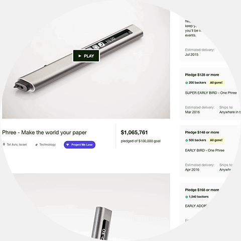 Phree - natie-phree-kickstarter-01 - Natie Branding Agency