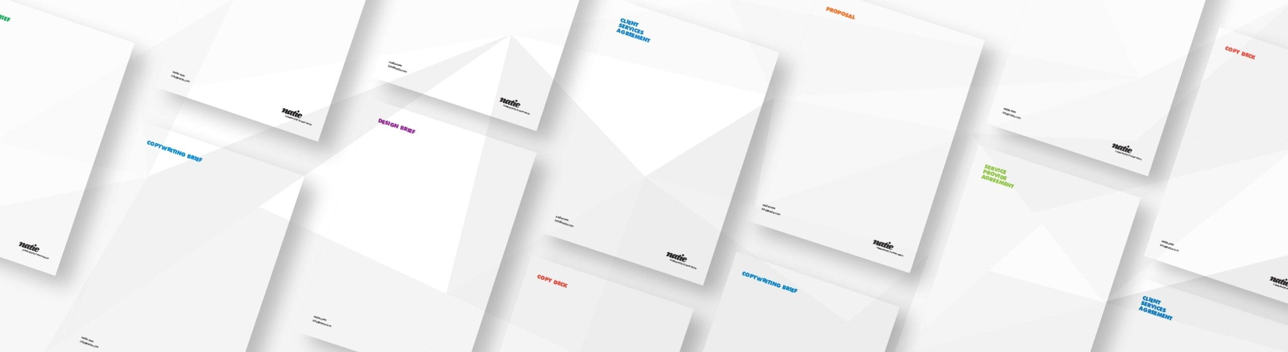 Natie - natie-rebrand-letterhead - Natie Branding Agency