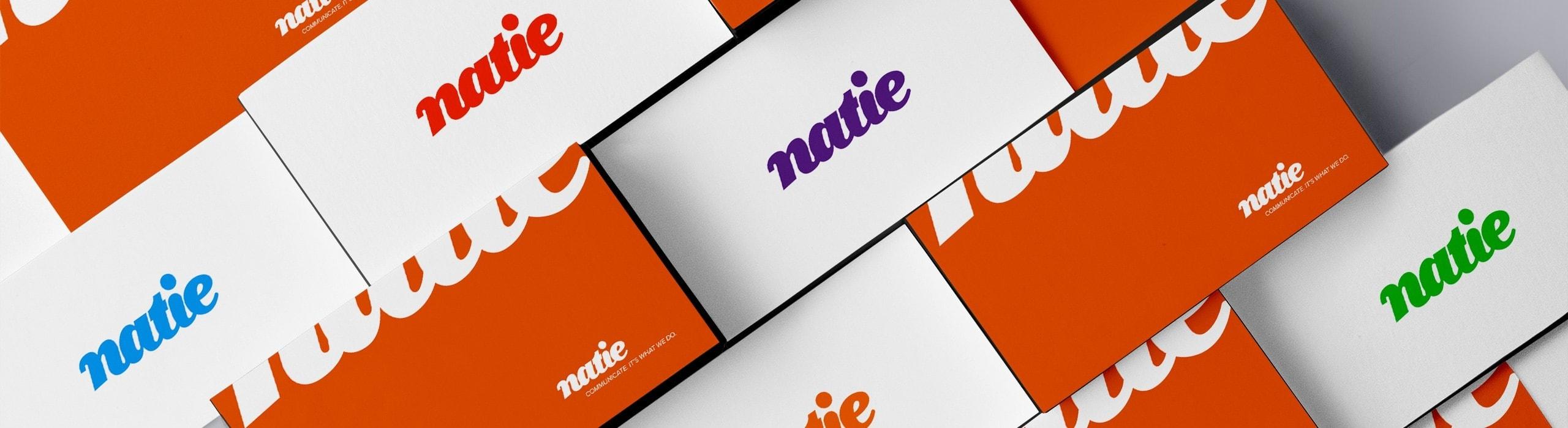 Natie - natie-rebrand-stickers - Natie Branding Agency