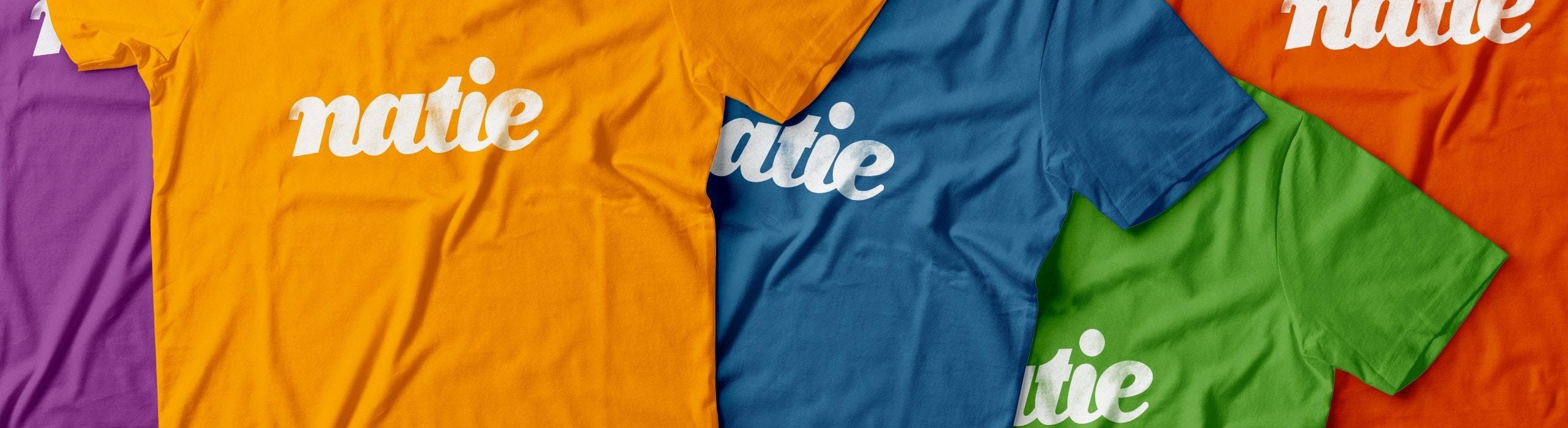 Natie - natie-rebrand-tshirt - Natie Branding Agency