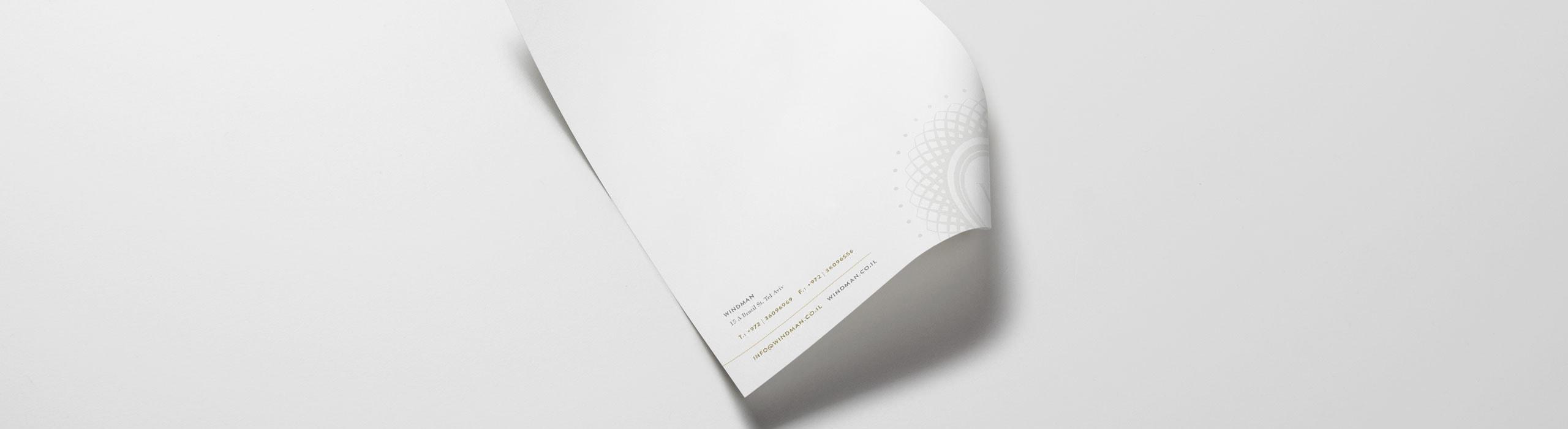 Windman - natie-windman-letterhead-design - Natie Branding Agency