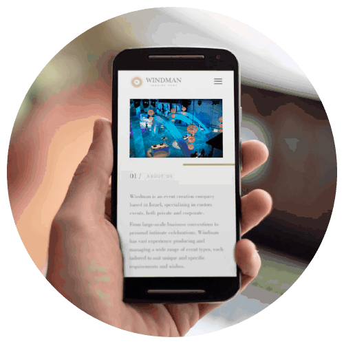 Windman - natie-windman-mobile-website - Natie Branding Agency