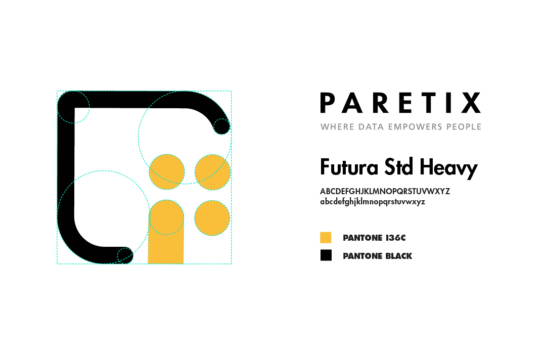 Paretix - natie-paretix-type-colors-logo - Natie Branding Agency