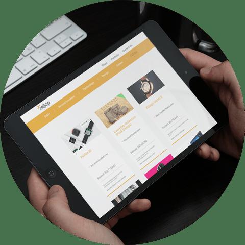 Jellop - natie-jellop-ipad-website - Natie Branding Agency