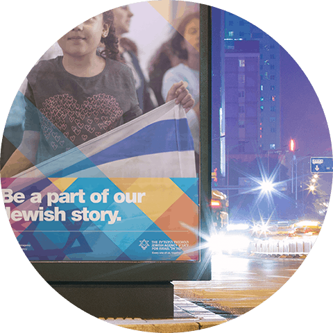 The Jewish Agency for Israel - 6 - Natie Branding Agency