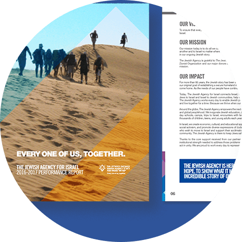 The Jewish Agency for Israel - 9 - Natie Branding Agency