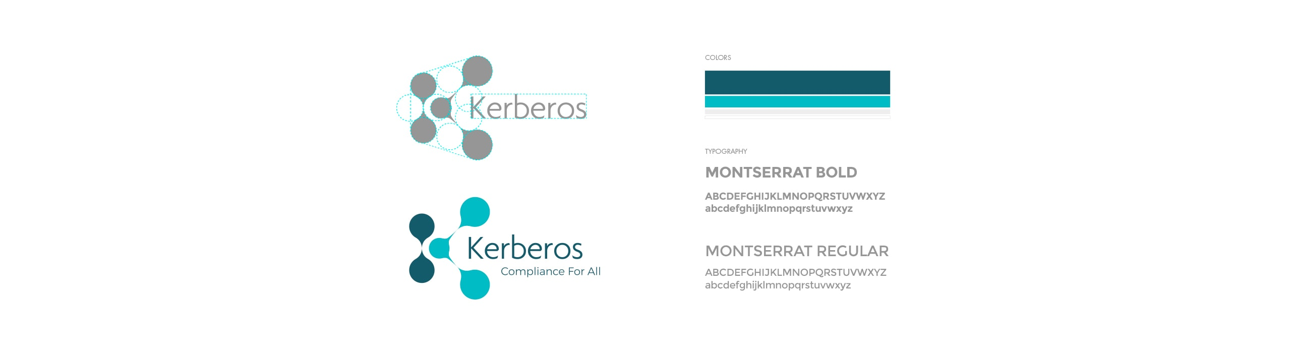 Kerberos - logo - Natie Branding Agency