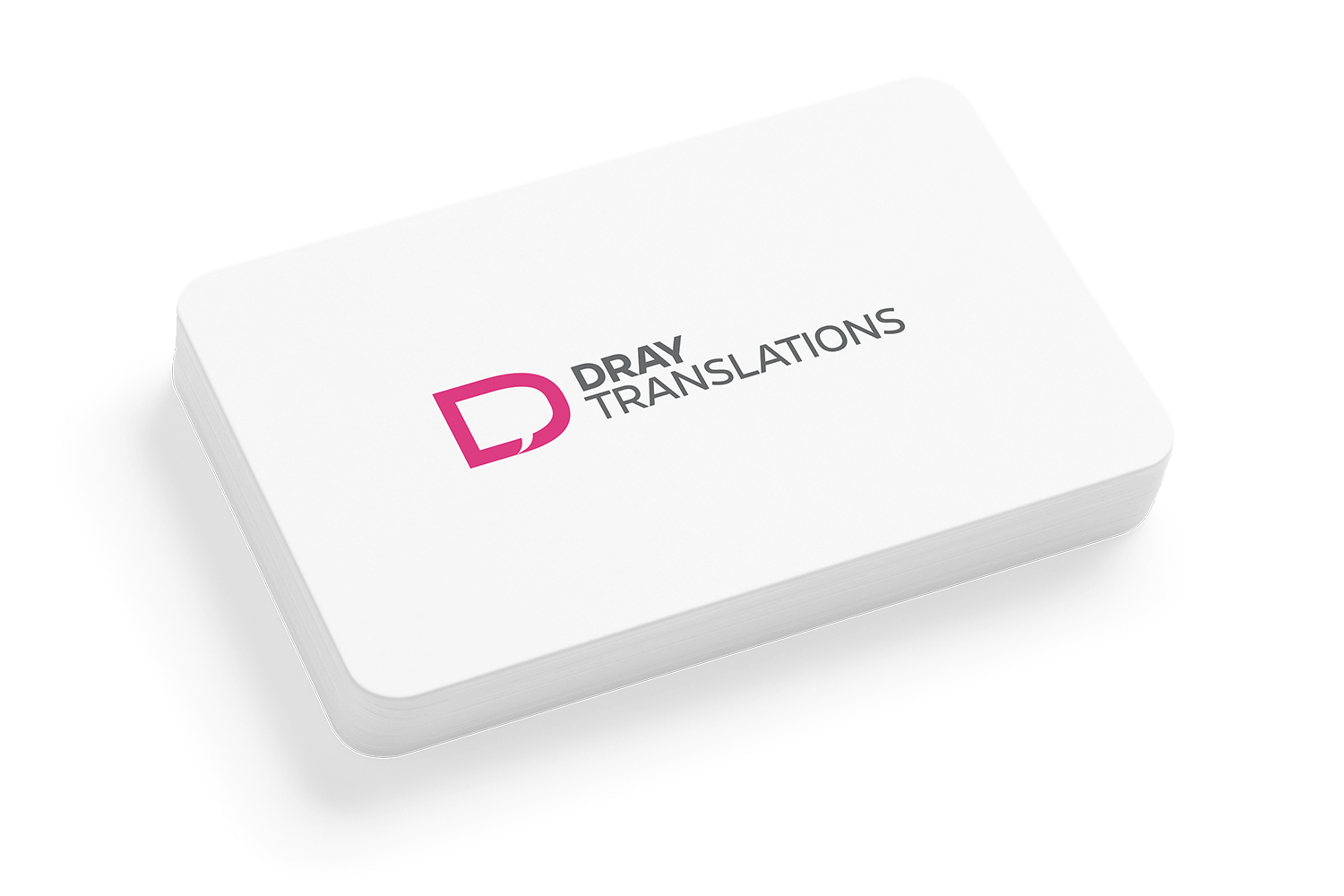 Dray Translations - Business Card 1274 2019-09-19 even smaller - Natie Branding Agency