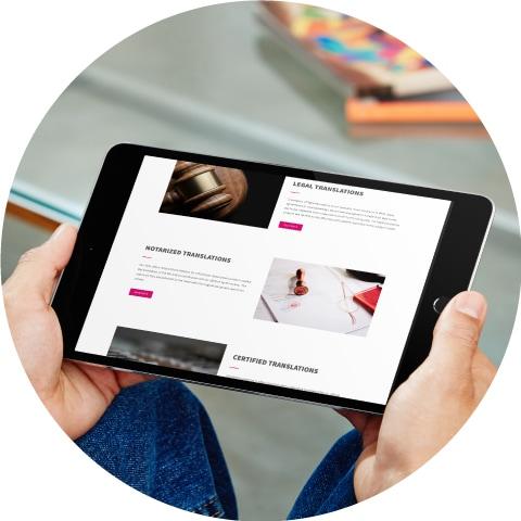 Dray Translations - circle1 - Natie Branding Agency