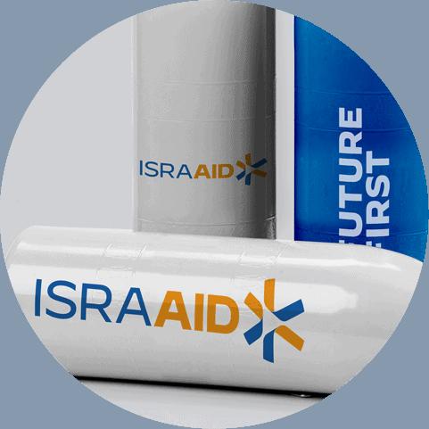 IsraAID - A - Natie Branding Agency